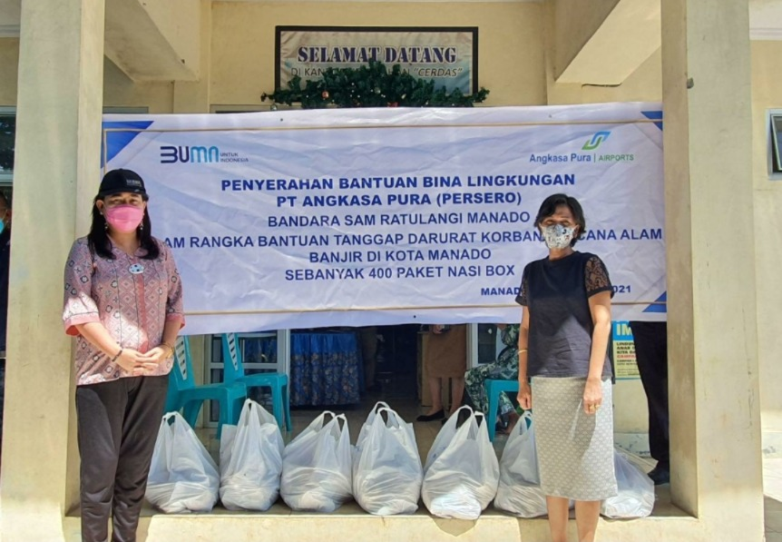 Triwulan I/2021, Angkasa Pura I Salurkan TJSL Senilai Rp1,57 Miliar