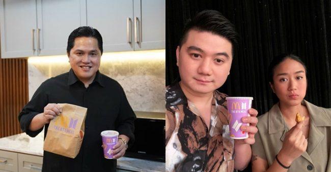 4 Publik Figur yang Ikut Beli BTS Meal, Termasuk Pak Menteri Erick Thohir