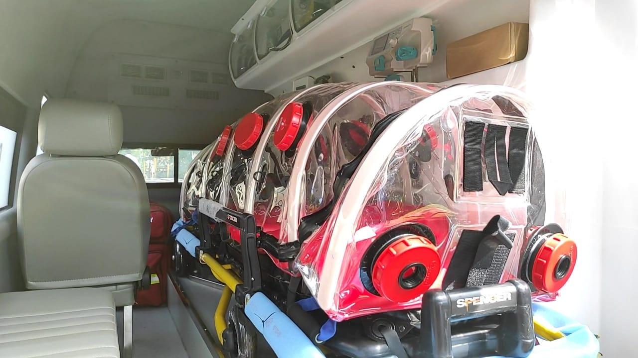 Ambulans Tangguh VIP Rescue 4x4, Upaya AP II Percepat Penanganan Covid-19