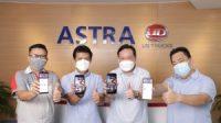 Para Manajemen Astra UD Trucks memperkenalkan Astra UD Trucks di Shopee. Official Store Astra UD Trucks di Shopee resmi dibuka 03 Juni 2021 (Sumber : Astra UD Trucks