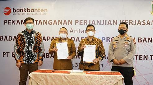 Bank Banten Kerja Sama dengan Bapenda Provinsi Banten