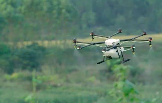 DKPP Probolinggo dan BPTP Jatim Gunakan Drone Semprot Hama