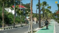 KemPUPR Hadirkan Trotoar Premium di Kawasan Wisata Labuan Bajo