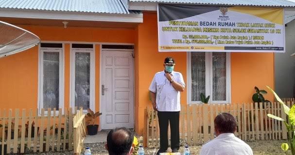 KemenPUPR Bedah 1500 Unit Rumah Tidak Layak Huni Solok