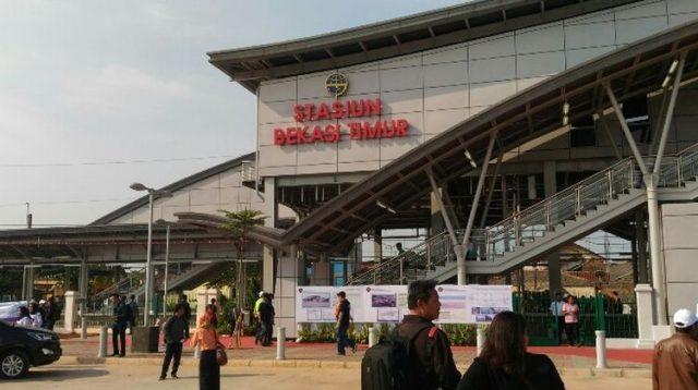 Kemenhub Akan Membangun Kawasan TOD di Stasiun Bekasi Timur