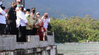Kunjungi Danau Maninjau, Menteri Trenggono Tegaskan Penataan KJA