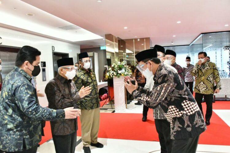 MES, Pertamina dan BSI Bermitra Dukung Ekonomi Syariah Indonesia
