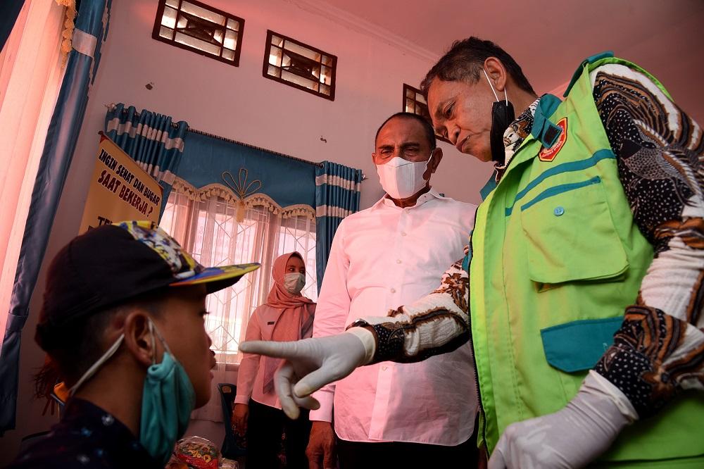 Masyarakat Paluta Serbu Layanan Kesehatan Gratis Pemprov Sumut