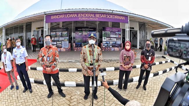 Menhub Apresiasi Percepatan Operasi Bandara Jenderal Besar Soedirman