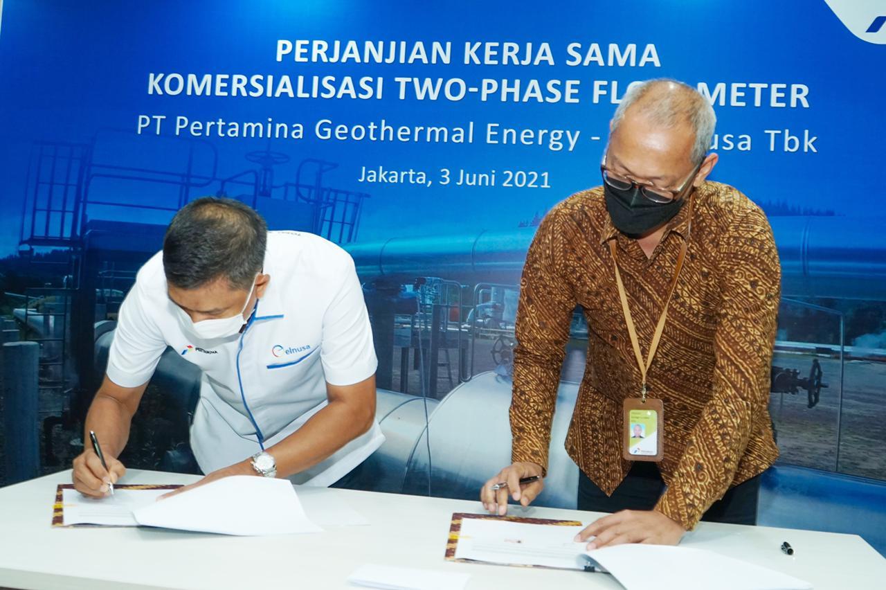 PGE dan ELNUSA Sinergi Pengembangan Teknologi Geothermal
