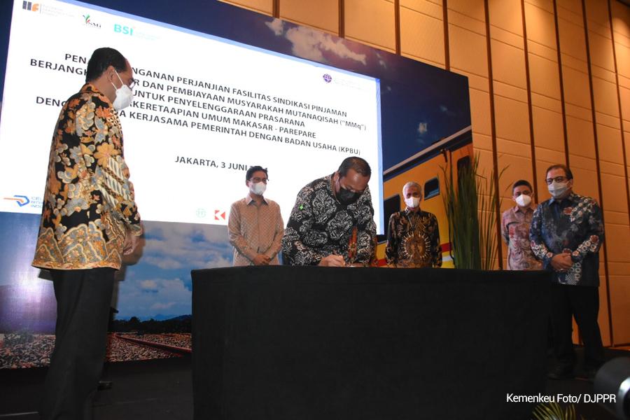 Pembangunan Proyek Kereta Api Makassar-Parepare Siap Dilaksanakan