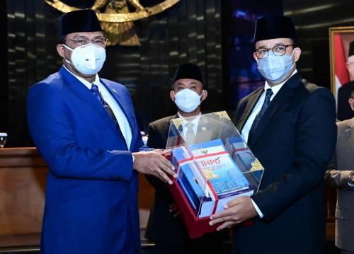 Pemprov DKI Jakarta Raih Opini WTP Tahun Anggaran 2020