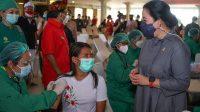 Percepat Distribusi Vaksinasi, Puan Beri 20.000 Vaksin Warga Jateng
