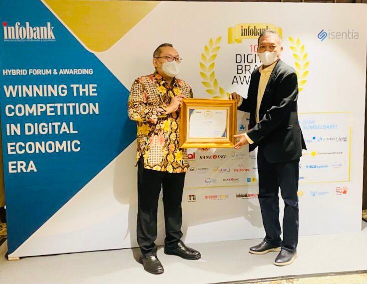Perum Perindo Raih Penghargaan Infobank Digital Award 2021