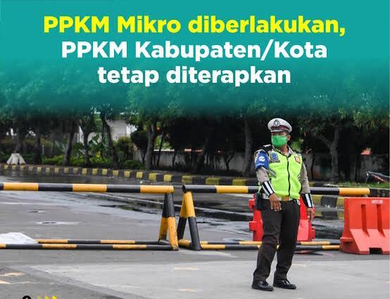 Polresta Pontianak Alihkan Arus Lalu Lintas Dukung PPKM