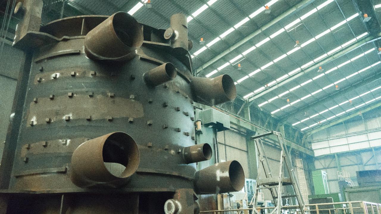 Proyek PLTU Jawa 9 dan 10, Barata Indonesia Pasok Komponen Turbin Uap
