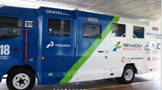 RS. Pertamina Baiturrahim Jambi Operasikan Mobile Laboratorium PCR