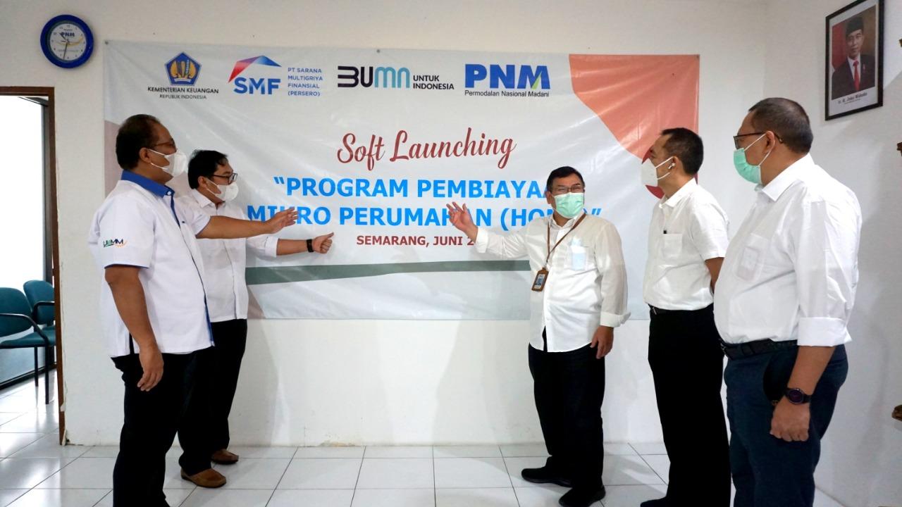 """SMF dan PNM Kolaborasi Luncurkan """"Home"""""""