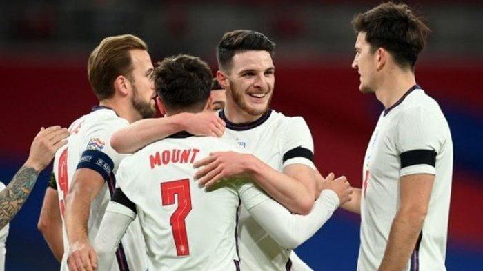 Susunan Pemain dan Jadwal Inggris vs Kroasia Live Piala Euro 2021