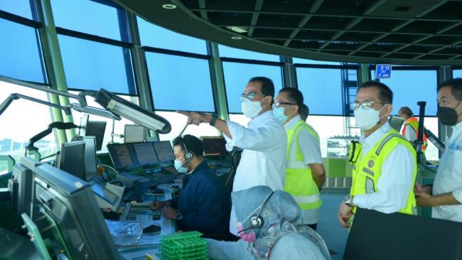 Tinjau Bandara Soetta, Menhub: Pergerakan Pesawat Semakin Membaik