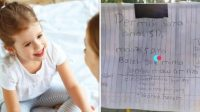 Viral Anak SD Tulis Surat untuk Minta Jambu, Aksinya Layak Dicontoh